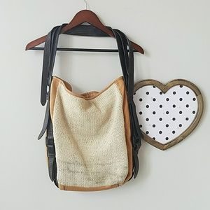 Anthro Holding Horses Tote  (OS)